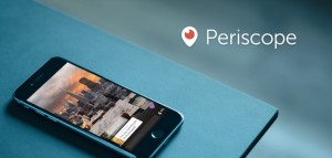 Periscope en eventos: cómo retransmitir y descargar el video